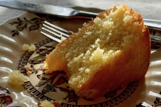 Maialino's Olive Oil Cake -- Lemon Version