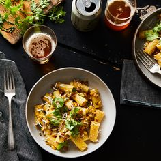 Mexican Street Corn Ditches the Cob for Pasta