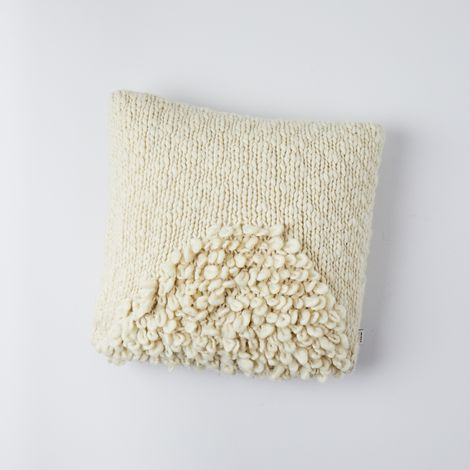 Moon Shag Pillow