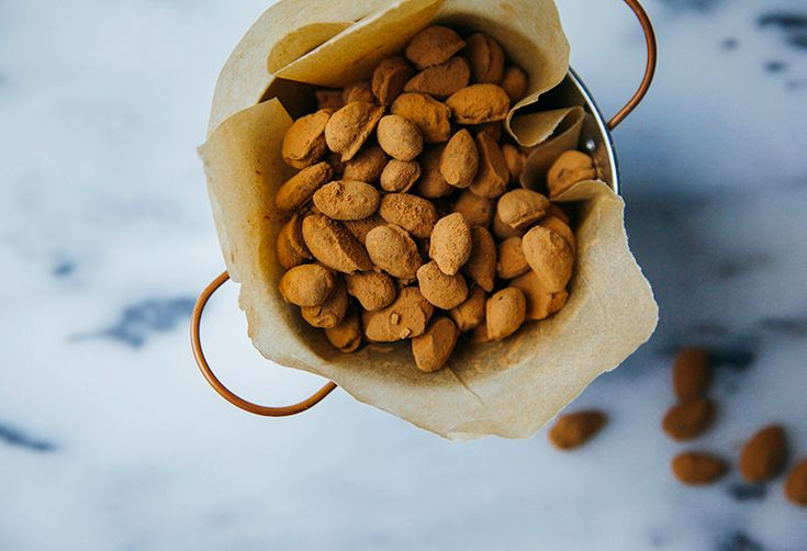 How to Make Chocolate-Covered Almonds at Home