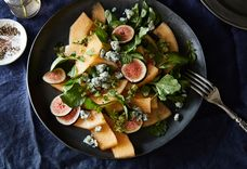 An Un-Fussy Composed Salad that Puts Stems to Good Use