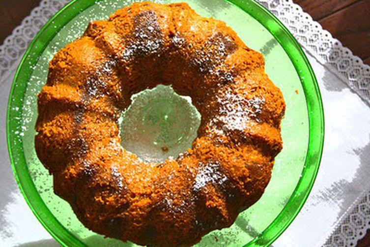 Pumpkin Gingerbread Pudding
