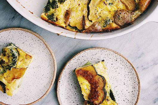 Sausage Acorn Squash Egg Bake