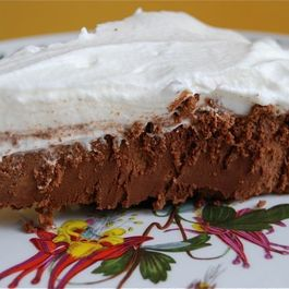 French Silk Pie with Coconut Crust
