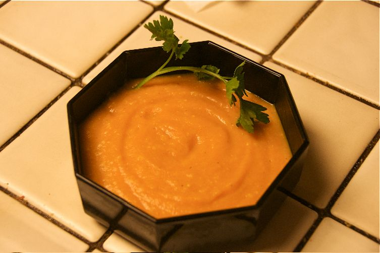 Spiced Carrot Ginger Soup