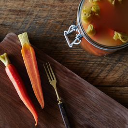 Five-Spice Pickled Carrots