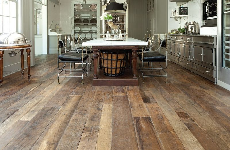 Wood Flooring Parquet Painted Reclaimed Woods