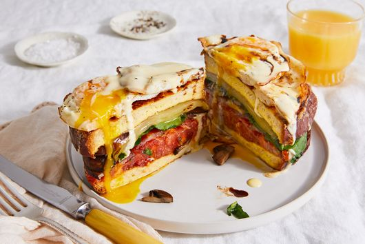 The Epic, 8-Layer Breakfast Sandwich I Dream About