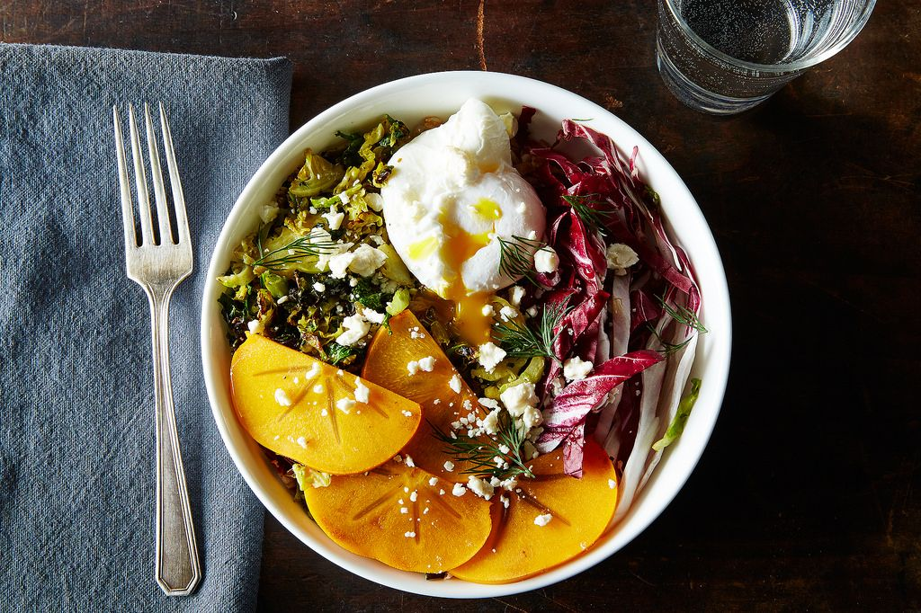 As the name suggests, this epic grain bowl is designed to be served family-style. Recipe here.