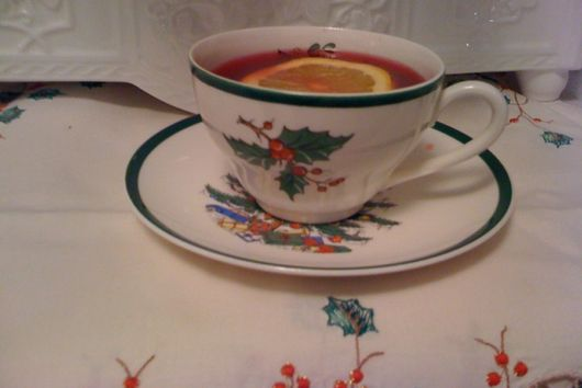 Lazy Cranberry Orange Tea Toddy