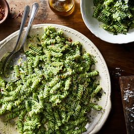 Pesto of kale and cashew by Nicole S. Urdang