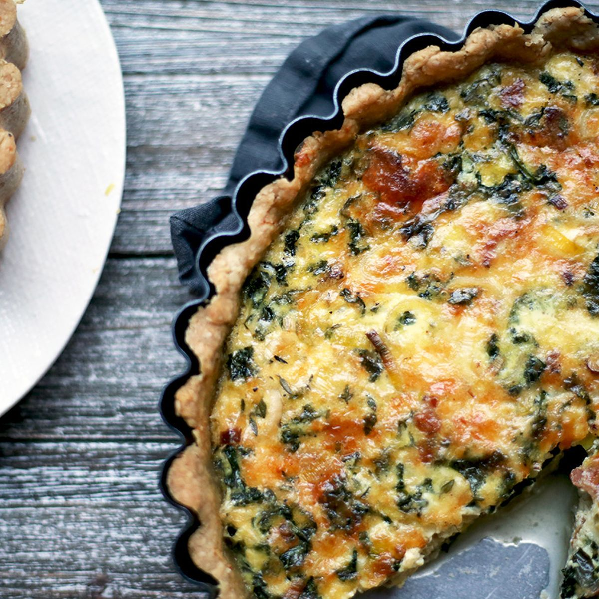 How To Make A Better Quiche Faster No Blind Baking