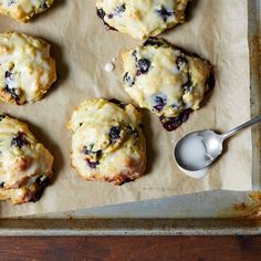 Legendary Blueberry Biscuits
