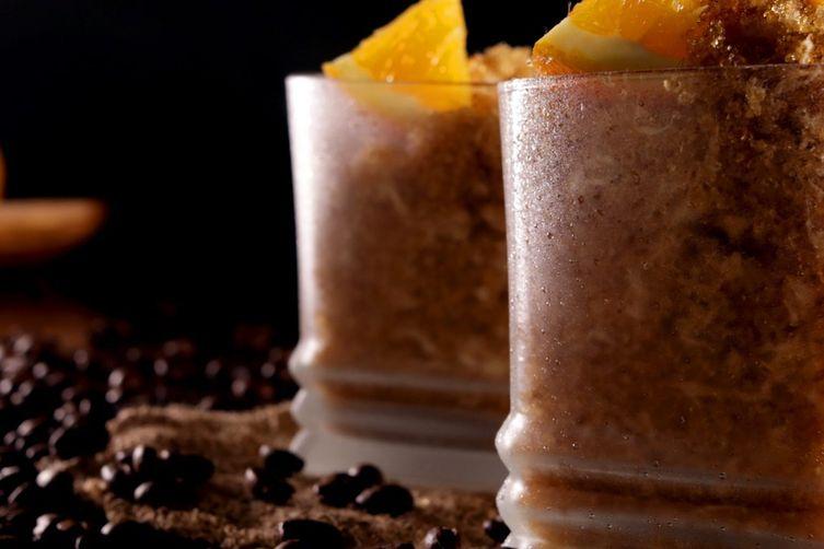 Coffee and Orange Granita