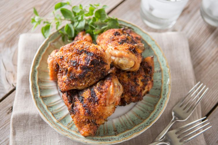 Aromatic Grilled Chicken Thighs