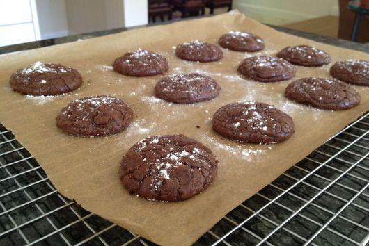 Aztec Dark Chocolate Cookies