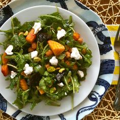Roasted Beet and Arugula Salad
