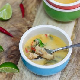 Thai Coconut Chicken Soup
