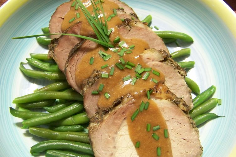 Pork Loin, the Julia Child way (sort of)