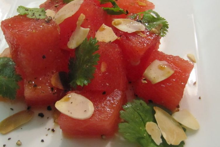 Savory Summer Watermelon Salad