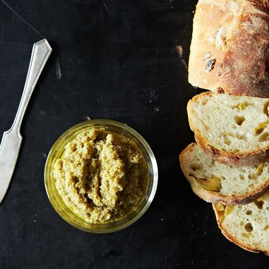 John Besh's Green Olive Tapenade