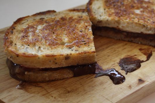 S'More Grilled Cheese Please!