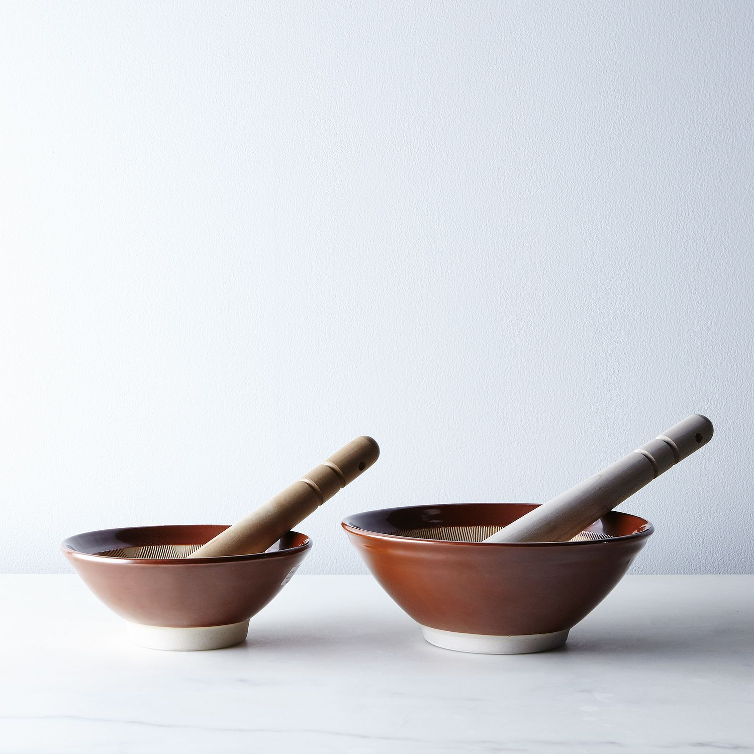 Mortar And Pestle : Japanese mortar and pestle on food