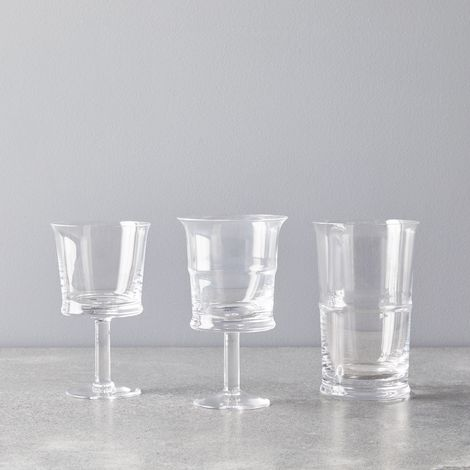 Crystal Jour Wine Glasses (Set of 2)