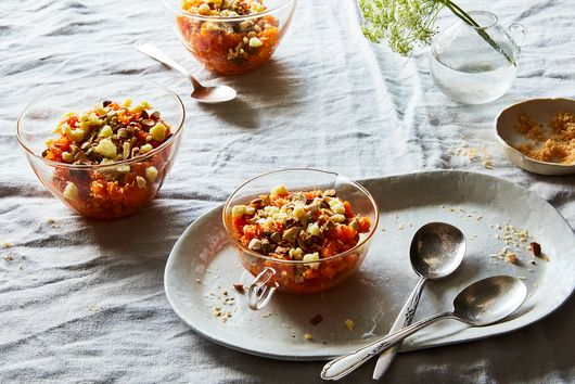 Eid Is Here; So Is Fragrant, Fudge-Topped Carrot Halva