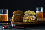 Cheesy Fish Burgers (The Walleye Lucy)