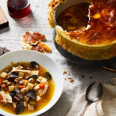 Black Truffle Soup (in Honor of Paul Bocuse)