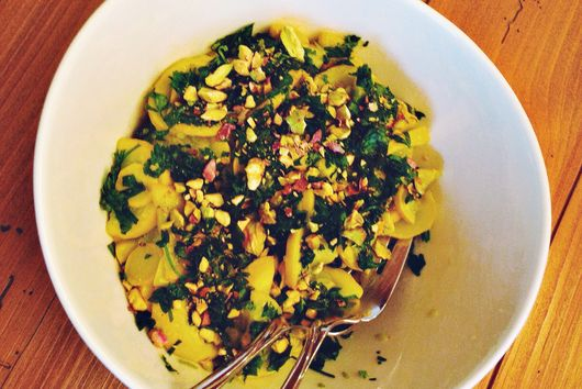 Warm Summer Squash Salad with Gremolata