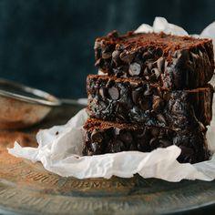 WHOLE WHEAT DOUBLE CHOCOLATE ZUCCHINI BREAD