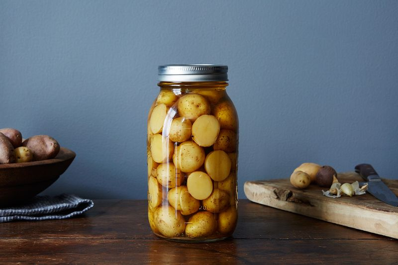 How to Pickle Potatoes