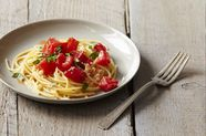 Michael Ruhlman's Pasta with Tomato Water, Basil, and Garlic