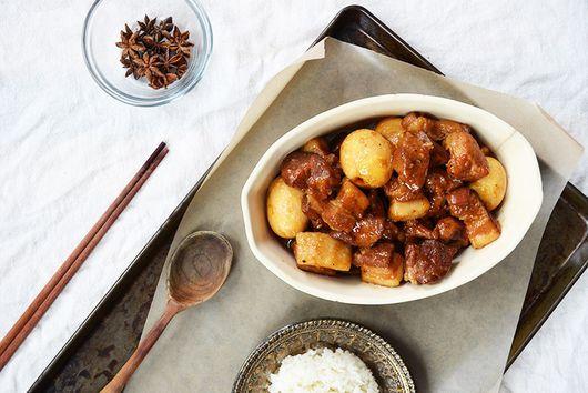 Braised Pork and Eggs (Thit Kho Tau)