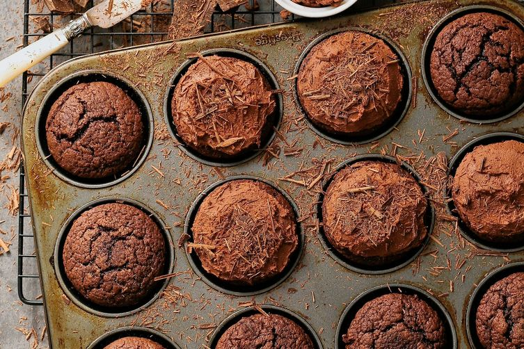 Whiskey ganache cupcakes