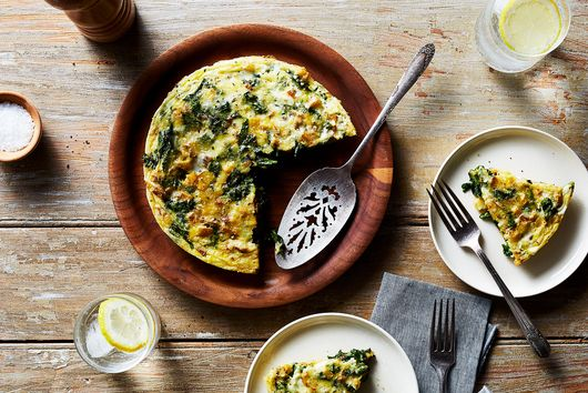 Turnip Greens Frittata