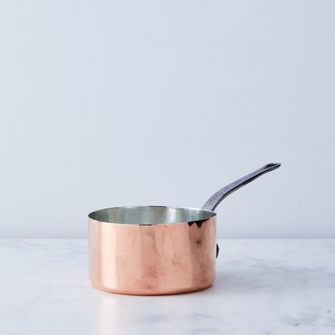 "Vintage Copper ""Paris"" Saucepan, Late 19th Century"