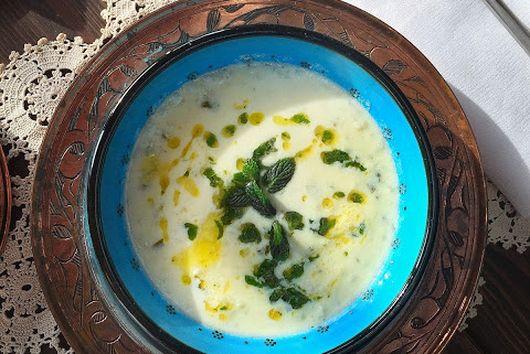 Turkish Yogurt Soup (High Plateau Soup)