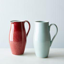 Handmade Porcelain Pitcher