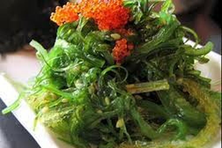 A Lazy Cook's Octopus and Seaweed Salad.