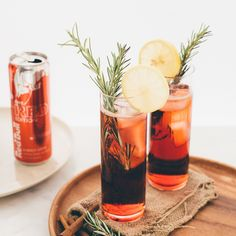 Red Bull Cranberry Mocktail