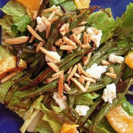 Tangerine and Roasted Green Bean Salad
