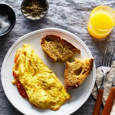 This Omelet Is Practically a Pizza