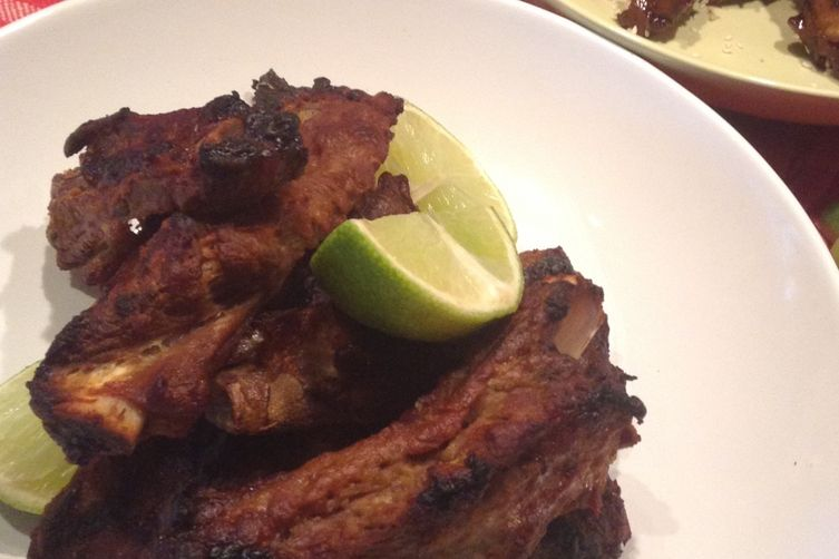 Spicy Ginger Lime & Hoisin Glazed Oven Roasted Spare Ribs (Two Ways)