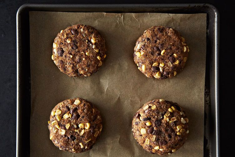 Black Bean and Corn Veggie Burgers on Food52