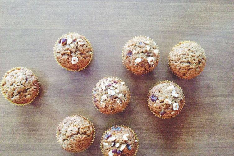 Jamie Oliver's Butternut Squash Muffins with a Frosty Top