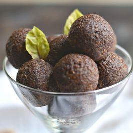 Grain Free Chocolate Walnut Truffles