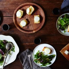 Chèvre Chaud with Mixed Greens
